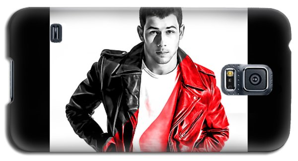 Nick Jonas Collection Galaxy S5 Case by Marvin Blaine