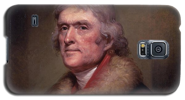 President Thomas Jefferson Galaxy S5 Case by War Is Hell Store