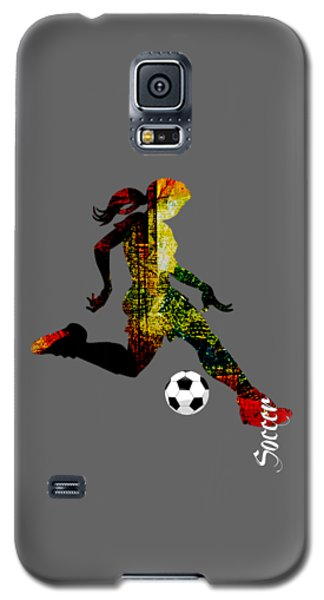 Soccer Collection Galaxy S5 Case by Marvin Blaine