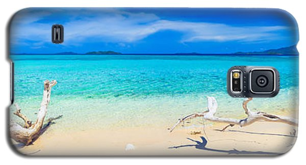 Tropical Beach Malcapuya Galaxy S5 Case by MotHaiBaPhoto Prints