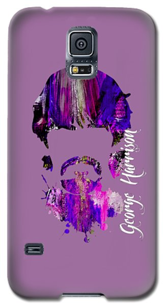 Music Galaxy S5 Cases - George Harrison Collection Galaxy S5 Case by Marvin Blaine
