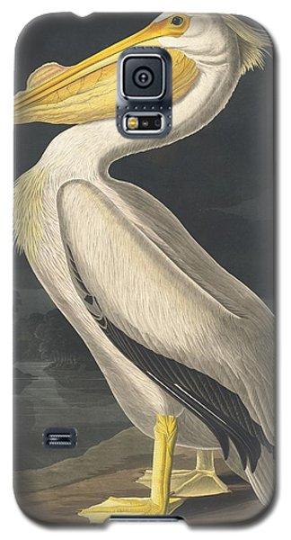 American White Pelican Galaxy S5 Case by John James Audubon