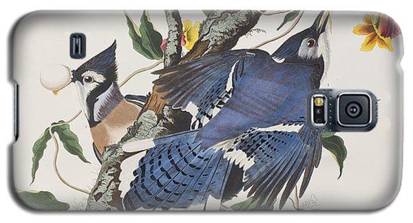 Blue Jay Galaxy S5 Case by John James Audubon