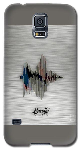 Breathe Spoken Soundwave Galaxy S5 Case by Marvin Blaine