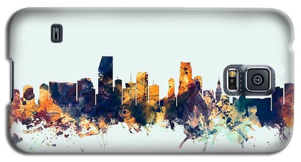Miami Florida Skyline Galaxy S5 Case by Michael Tompsett