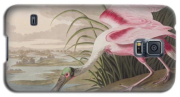 Roseate Spoonbill Galaxy S5 Case by John James Audubon