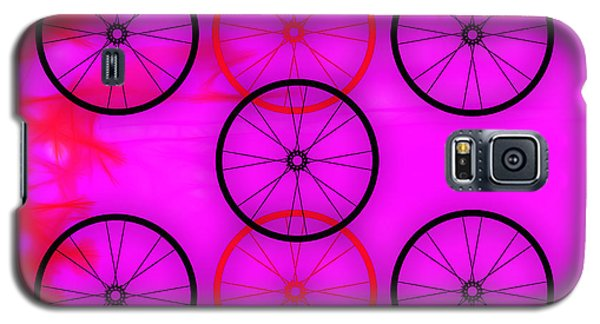 Bicycle Wheel Collection Galaxy S5 Case by Marvin Blaine