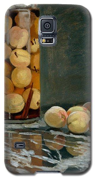 Jar Of Peaches Galaxy S5 Case by Claude Monet