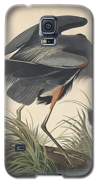 Great Blue Heron Galaxy S5 Case by John James Audubon