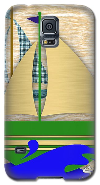 Sailing Collection Galaxy S5 Case by Marvin Blaine