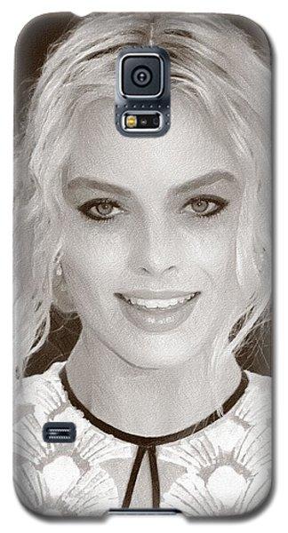 Actress Margot Robbie Galaxy S5 Case by Best Actors