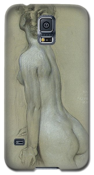 A Naiad In The Lament For Icarus Galaxy S5 Case by Herbert James Draper
