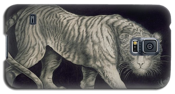 A Prowling Tiger Galaxy S5 Case by Elizabeth Pringle