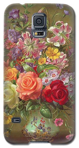 A Summer Floral Arrangement Galaxy S5 Case by Albert Williams