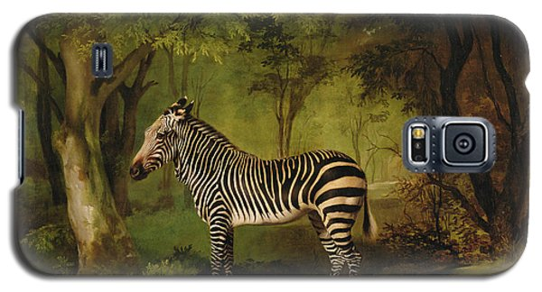 A Zebra Galaxy S5 Case by George Stubbs