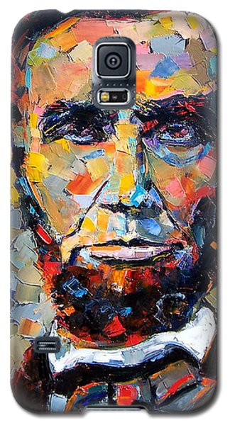 Abraham Lincoln Portrait Galaxy S5 Case by Debra Hurd