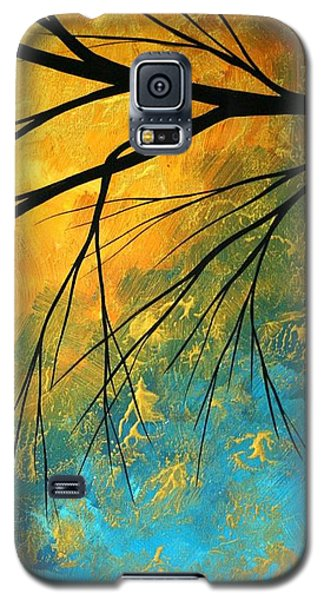 Abstract Galaxy S5 Cases - Abstract Landscape Art PASSING BEAUTY 2 of 5 Galaxy S5 Case by Megan Duncanson