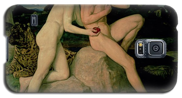 Adam And Eve  Galaxy S5 Case by William Strang
