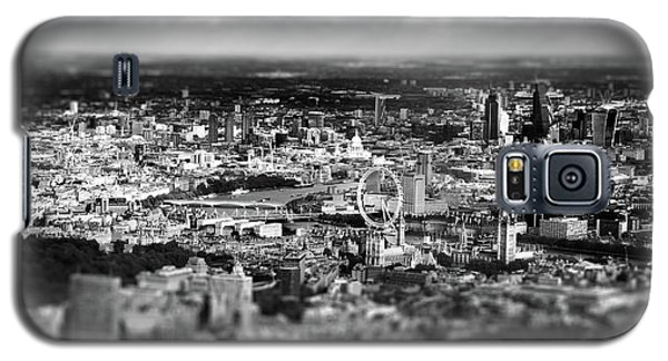 Aerial View Of London 6 Galaxy S5 Case by Mark Rogan
