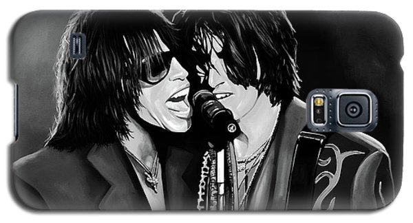 Aerosmith Toxic Twins Mixed Media Galaxy S5 Case by Paul Meijering