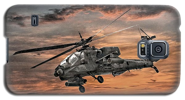 Ah-64 Apache Attack Helicopter Galaxy S5 Case by Randy Steele