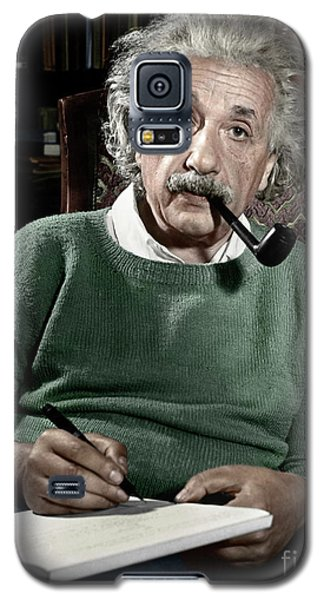 Albert Einstein Galaxy S5 Case by Granger