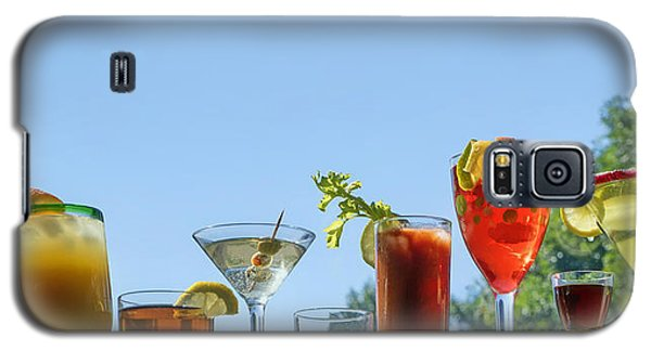 Alcoholic Beverages - Outdoor Bar Galaxy S5 Case by Nikolyn McDonald