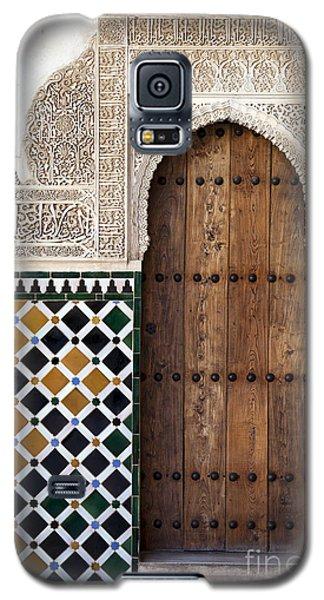 Alhambra Door Detail Galaxy S5 Case by Jane Rix
