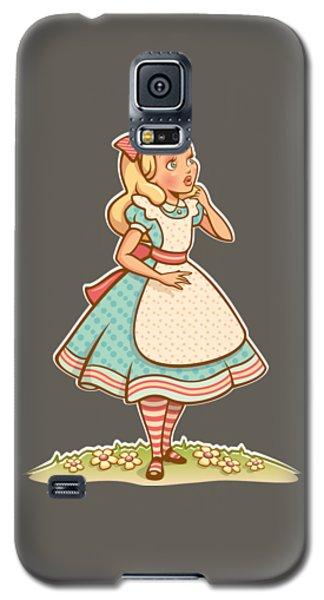Alice Galaxy S5 Case by Elizabeth Taylor