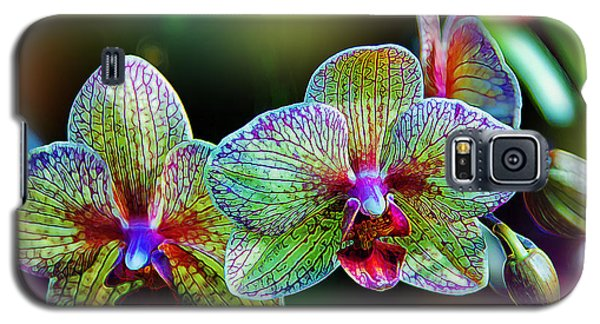 Alien Orchids Galaxy S5 Case by Bill Tiepelman