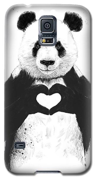 All You Need Is Love Galaxy S5 Case by Balazs Solti