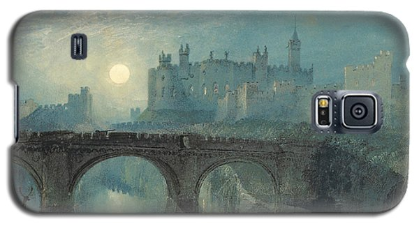 Alnwick Castle Galaxy S5 Case by Joseph Mallord William Turner