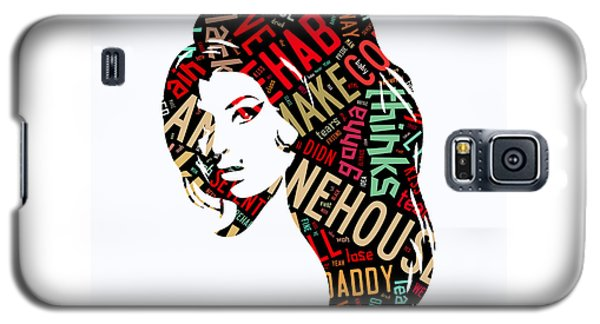 Amy Winehouse Rehab Galaxy S5 Case by Marvin Blaine