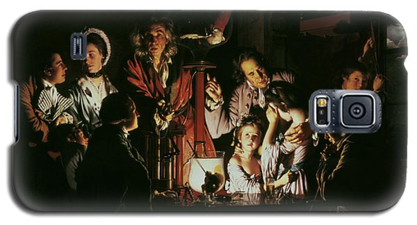 An Experiment On A Bird In The Air Pump Galaxy S5 Case by Joseph Wright of Derby