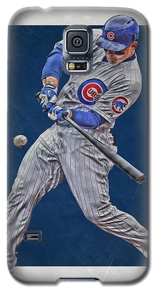 Anthony Rizzo Chicago Cubs Art 1 Galaxy S5 Case by Joe Hamilton
