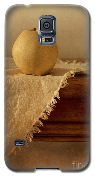 Still Life Galaxy S5 Cases - Apple Pear On A Table Galaxy S5 Case by Priska Wettstein