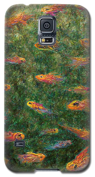 Aquarium Galaxy S5 Case by James W Johnson
