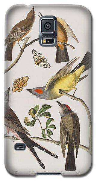 Arkansaw Flycatcher Swallow-tailed Flycatcher Says Flycatcher Galaxy S5 Case by John James Audubon