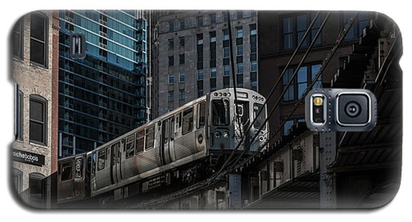 Around The Corner, Chicago Galaxy S5 Case by Reinier Snijders