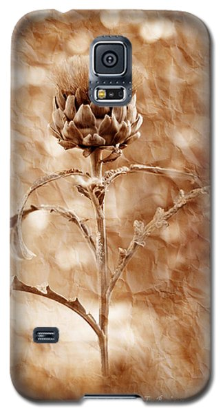 Artichoke Bloom Galaxy S5 Case by La Rae  Roberts
