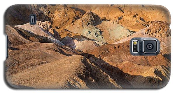 Galaxy S5 Cases - Artists Palette Death Valley Galaxy S5 Case by Steve Gadomski