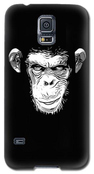 Evil Monkey Galaxy S5 Case by Nicklas Gustafsson