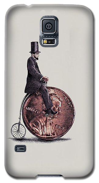 Penny Farthing Galaxy S5 Case by Eric Fan