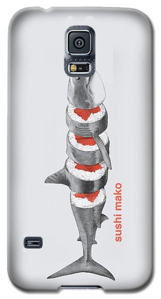 Sushi Mako Galaxy S5 Case by Eric Fan
