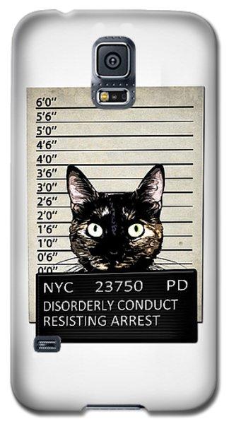 Kitty Mugshot Galaxy S5 Case by Nicklas Gustafsson