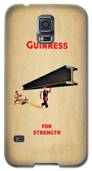 Guiness For Strength Galaxy S5 Case by Mark Rogan