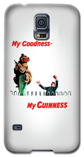 My Goodness My Guinness 2 Galaxy S5 Case by Mark Rogan