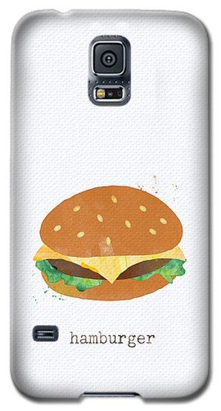 Hamburger Galaxy S5 Case by Linda Woods