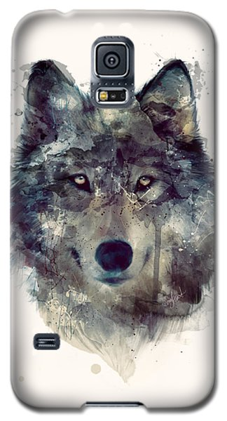 Wolf // Persevere Galaxy S5 Case by Amy Hamilton