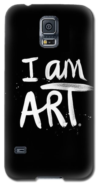 Recently Sold -  - Buy Galaxy S5 Cases - I Am Art- Painted Galaxy S5 Case by Linda Woods